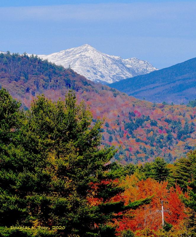 MT ADAMS SNOW AND FOLIAGE====================MT ADAMS SNOW AND FOLIAGE