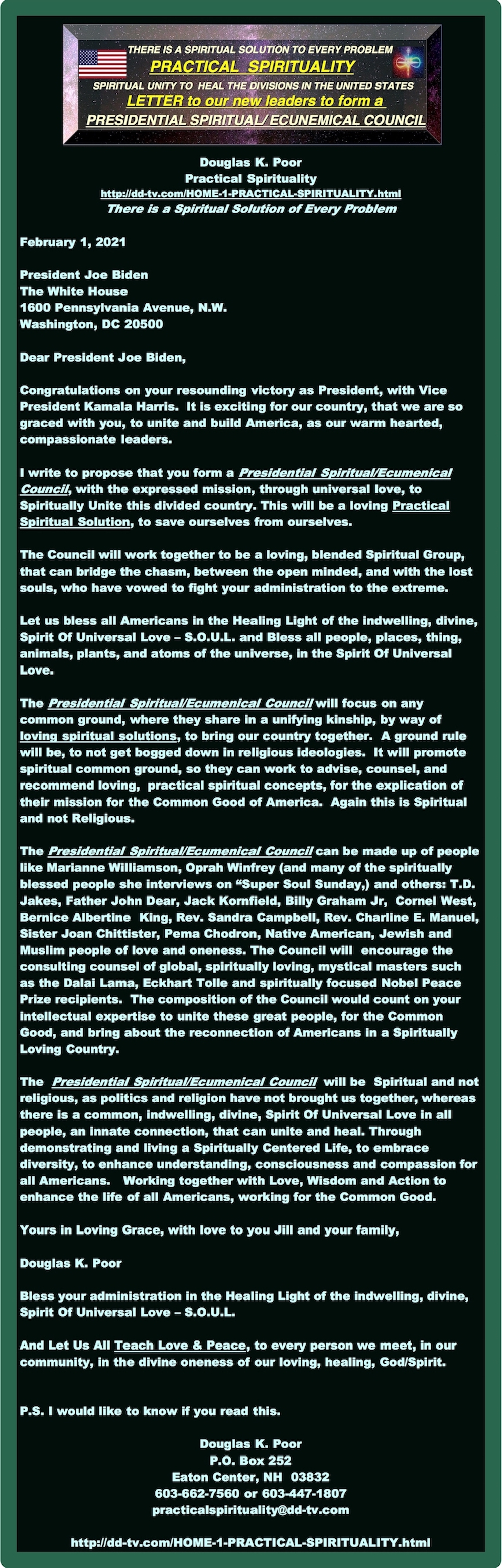 =========================================================LETTER-FOR-PRESIDENTIAL-SPIRITUAL-ECUNEMICAL-COUNCILj===============================================================LETTER-FOR-PRESIDENTIAL-SPIRITUAL-ECUNEMICAL-COUNCIL