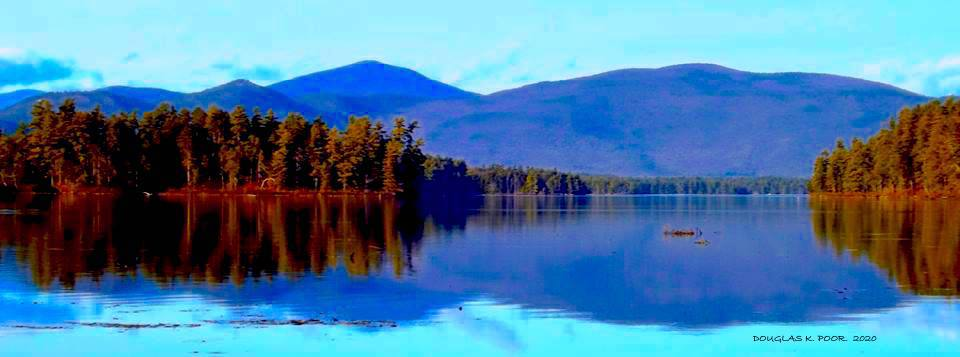 KEARSARGE-AND-MTNS-FROM-CONWAY-LAKE-PANORAMA PICTURE BY DOUGLAS K. POOR dd-TV.com