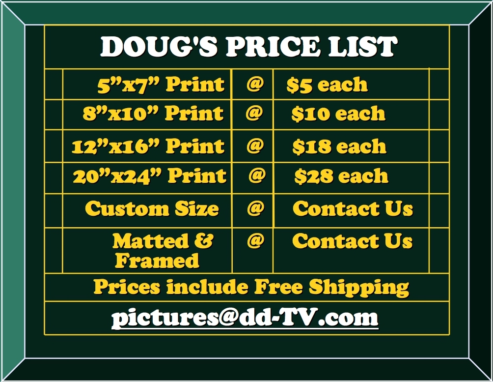 DOUGS PHOTOS PRICE LIST FOR DIFFERENT SIZES